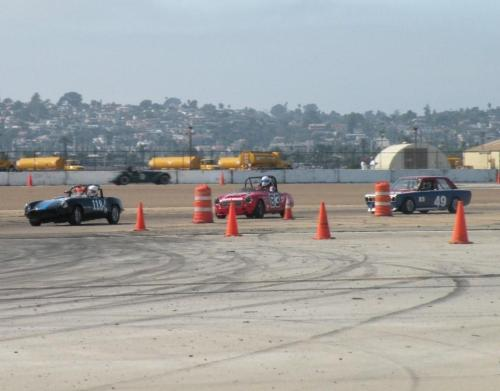 Last turns at Coronado 2009