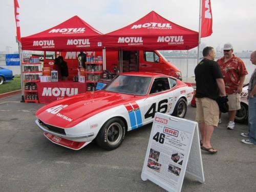 BRE 240Z at Motul Booth 2010