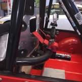 Seat belt bar/ camera mount